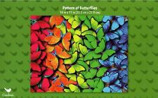 """Butterflies 300 Piece Jigsaw Puzzle 14"""" x 11"""" RARE Butterfly Pattern"""