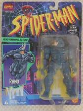 1994 Marvel Comics Spider-Man RHINO Action Figure w/ Head-Ramming Action SEALED