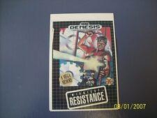 MIDNIGHT RESISTANCE Genesis Vidpro Card