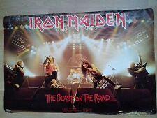 IRON MAIDEN Tour Poster 1982