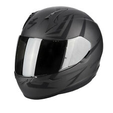 Scorpion 39-264-211 Casco Moto Integrale Exo-390 Hawk Matto Dark Argento-nero L