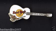 Hard Rock Cafe Hong Kong 2 inch Guitar Pin