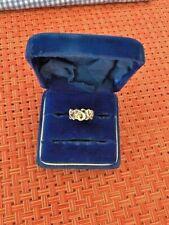 Tiffany & Co. SS 925 Paloma Picasso Triple Loving Heart Ring - Size 5