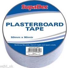 SupaDec Mesh Plasterboard Joint Repairing Corner Cracks Tape - 50mm x 90m