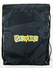 Beaver Drawstring Tote Bag Official Uniform