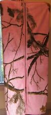 """Bass Pro Pink Realtree Fleece Cuddle Wrap With Pink Trim  NEW 55"""" x 67"""""""
