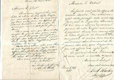 1861-62. Lucchesi-Palli. Achats de fusils. Cause des Bourbons. Italie. Sicile.