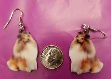Shetland Sheepdog Sheltie Dog lightweight fun earrings jewelry Free Shipping!