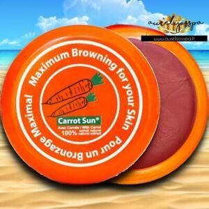 🥕Carrot Sun® Tanning Cream 350ML   With Carrot Oil + Auto-Bronzant + L-tyrosine