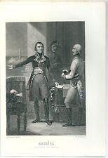 1845 MASSÉNA M.A. Thiers Napoleone Andrea Massena Duca di Rivoli Assedio Genova