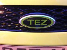 Custom Ford Badge Front Rear Car Sticker Vinyl Overlay Fiesta Zetec S Focus ST