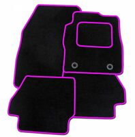 MAZDA CX3 2015 ONWARDS TAILORED CAR FLOOR MATS CARPET BLACK MAT + PINK TRIM