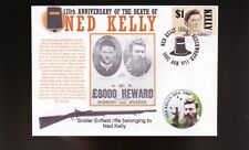 Ned Kelly 125th Anniversary Cover, Kellys Rifle