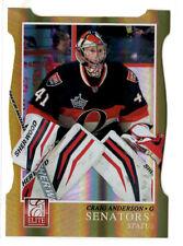 Craig Anderson      Panini Elite  Status   Gold  card #01/99