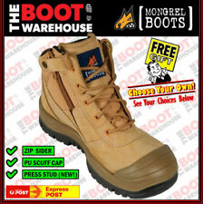 Zip Work & Safety Boots for Men