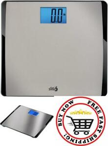 Precision Digital Body Weight Scale 550 Lbs Extra-High Capacity Home Bathroom