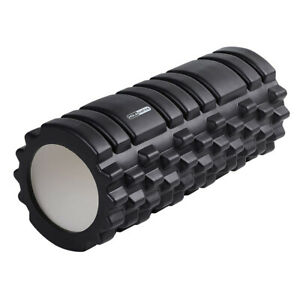HolaHatha High Density Hollow EVA Foam Roller for Muscle Massage Recovery