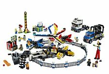 DELUXE Lego AMUSEMENT PARK Large Play Set CARNIVAL Fair Truck Ages 16+ Yrs NEW