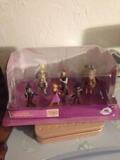 Disney Store Tangled 6 Figurine Playset New in Box Great for Cake topper