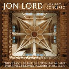 Barley/Lord/PALMER/rlpo/+ - Durham CONCERTO CD NUOVO Lord, John Douglas (Jon)