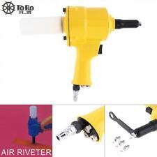 """Air Riveter Hydraulic Pop Rivet Pneumatic Riveting Gun 3/16"""" 5/32 1/8 3/32"""