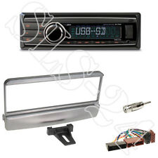 Caliber RMD212 Radio + Ford Escort Mondeo Focus Mazda Blende silber +ISO Adapter