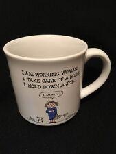 Vintage I Am Working Woman I Take Care of Home I am Nuts Humor Coffee Mug