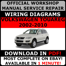 # OFFICIAL WORKSHOP Service Repair MANUAL VOLKSWAGEN TOUAREG 2002-2010 +WIRING#
