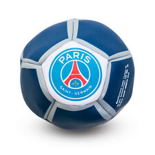 Paris Saint Germain Crest Kick N Trick Small Bean Filled Football White & Blue