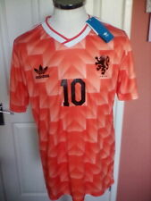 Holland 1998, #10 , Retro Vintage Official Adidas shirt, BNWT  size L adult
