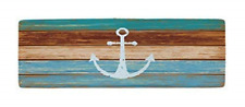 Best Nautical Anchor Bath Mats and Rugs Flannel Fabric Non Slip Rubber Backing