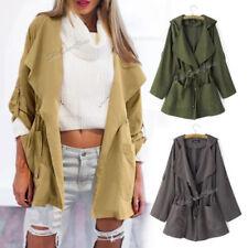 Unbranded Polyester Windbreaker Coats & Jackets for Women