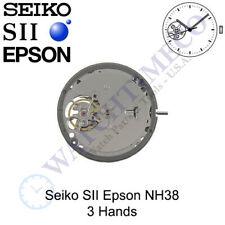 Genuine Seiko SII Epson NH38 Watch Movement Japan 3 Hands