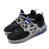 Nike React Presto Black Blue Grey Men Running Casual Shoes Sneakers AV2605-005
