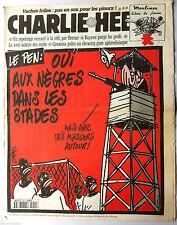 """Charlie hebdo n°210 du 26/06/1996: """"Le vrai salaire des curés"""" Le Pen"""