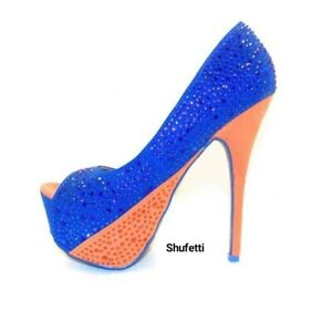 """Shufetti Shaniyah Pump 2"""" Platform 6"""" Heel"""