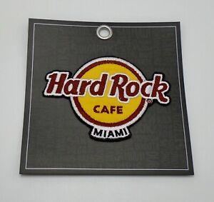 Hard Rock Café Classique Logo Patch Miami Fer / Coudre Sur Patch