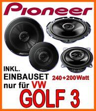 VW Golf III 3   PIONEER LAUTSPRECHER BOXEN SET TÜR VORNE FRONT NEUWARE
