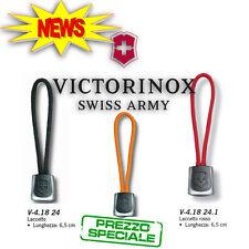 VICTORINOX LACCETTO Coltellini Multiuso Rosso/ Nero/ Giallo Knife LANYARDS Swiss