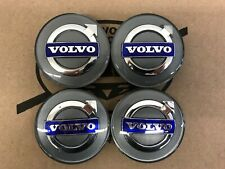 Volvo Silver Center Cap Set 31400452 S60 V70 Xc70 S80 Xc90 Xc60 S40 V50 C70 C30