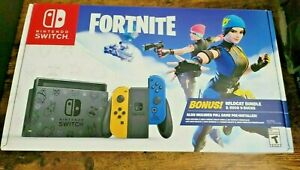 ✅ *NO CODE* NEW Nintendo Switch Fortnite Wildcat Bundle Console 32GB Special 🚚