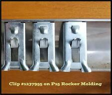 46 1947 1948 PLYMOUTH P15 ROCKER SILL MOLDING TRIM CLIPS SPECIAL DELUXE CLIP