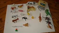 Plastic Animals Dinosaurs Horses Farm Animals Horse Trailer