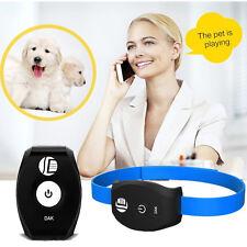 Mini Waterproof Personal Dog Cat Collar Pet ID Locator GPS Tracker GSM Tracking