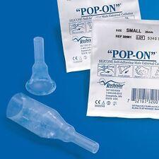 3 -Condom Catheters 29mm Medium ROCHESTER Pop-On Short Penis Self Adhering