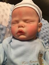 Limited Edition Evelyn Reborn Baby Boy Doll by Cassie Brace