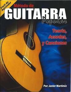 Método de Guitarra Popular, Javier Martínez Teoría, Acordes y Canciones