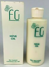 Florence Gunnarson Mink Oil Skin Treatment 6 Ounce Bottle Nos 2008 Vintage