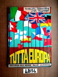 ALBUM FIGURINE  TUTTA  EUROPA SERIE N° 2 EDIZIONI FOL-BO  PRESENTI 102  (4BIS4)