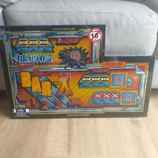 More details for electrocoin deluxe super bar fruit slot machine glass screen art man cave retro